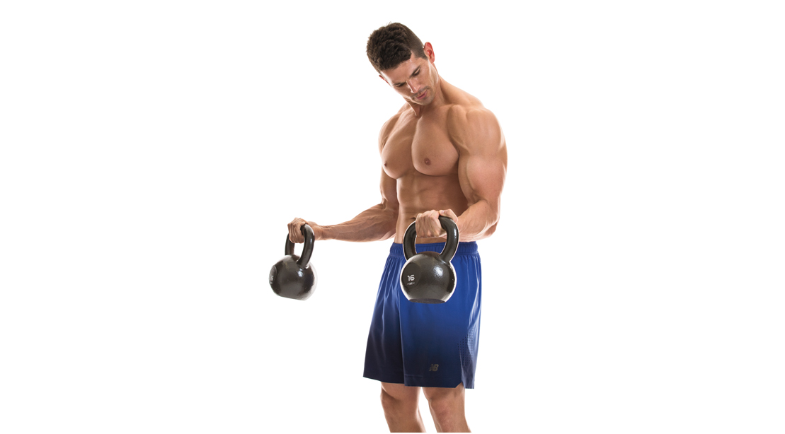 The Ultimate Biceps & Triceps Kettlebell Workout | Muscle & Fitness