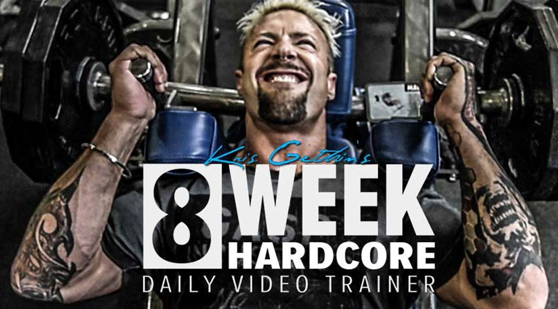 Kris Gethins 8 Week Hardcore Workout