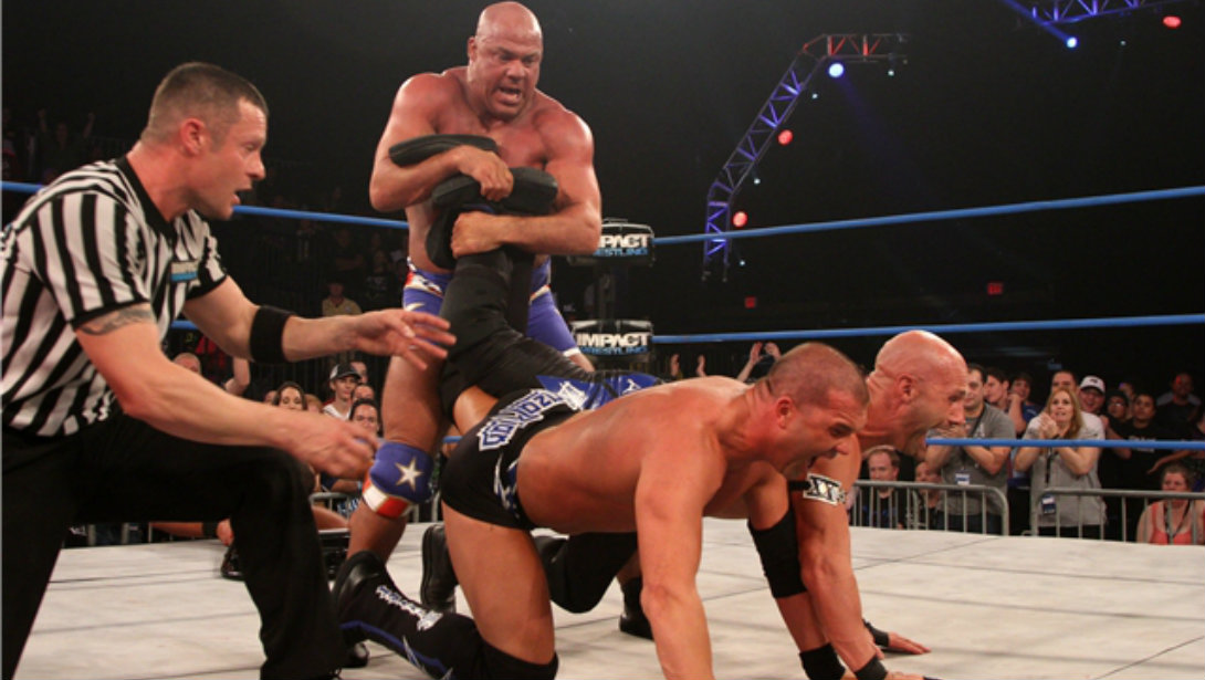 1 On 1 with Pro Wrestling Superstar Kurt Angle