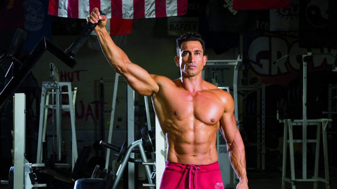 Build Bigger Shoulders With The Landmine Lateral Raise Muscle Amp Fitness