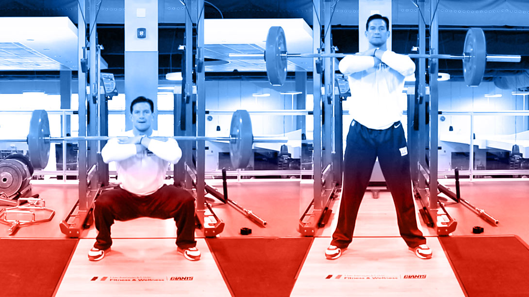 Leg Day with Steve Weatherford: The Endurance Legs Workout