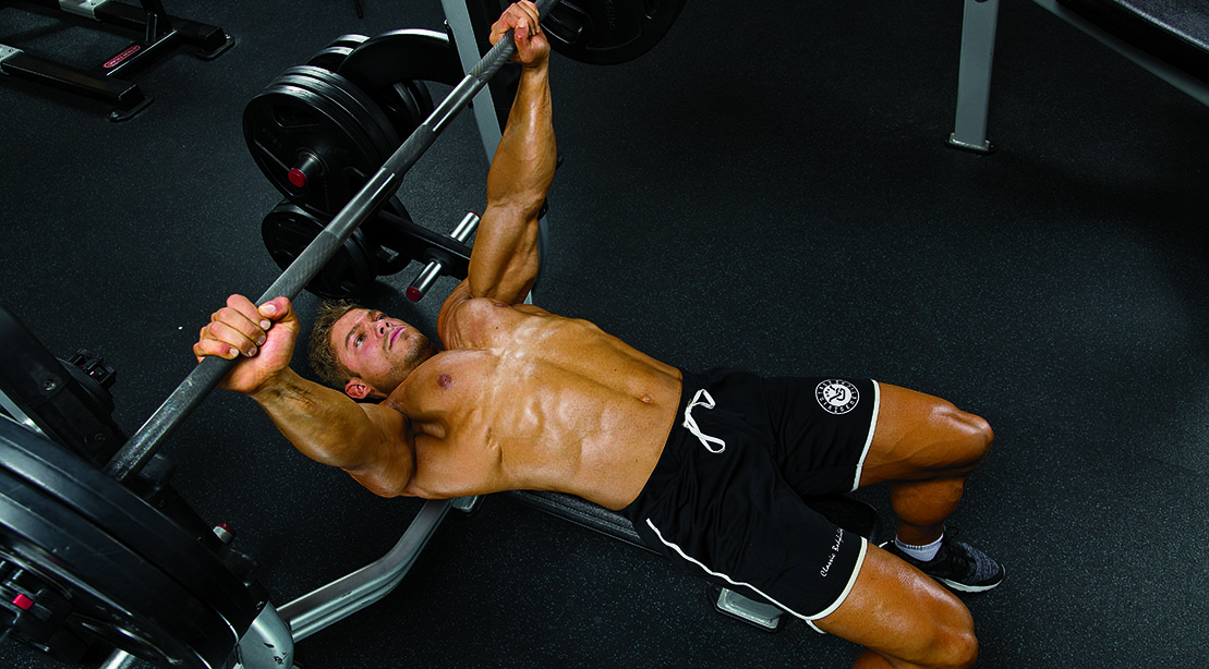 Wesley Vissers's Chest Workout for Old-School Muscle