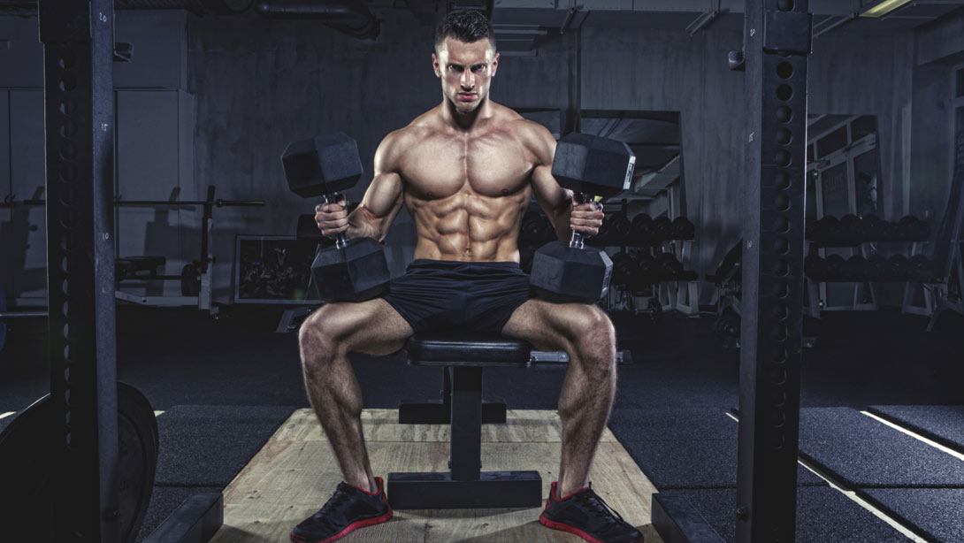 the best muscle building dumbbell exercises