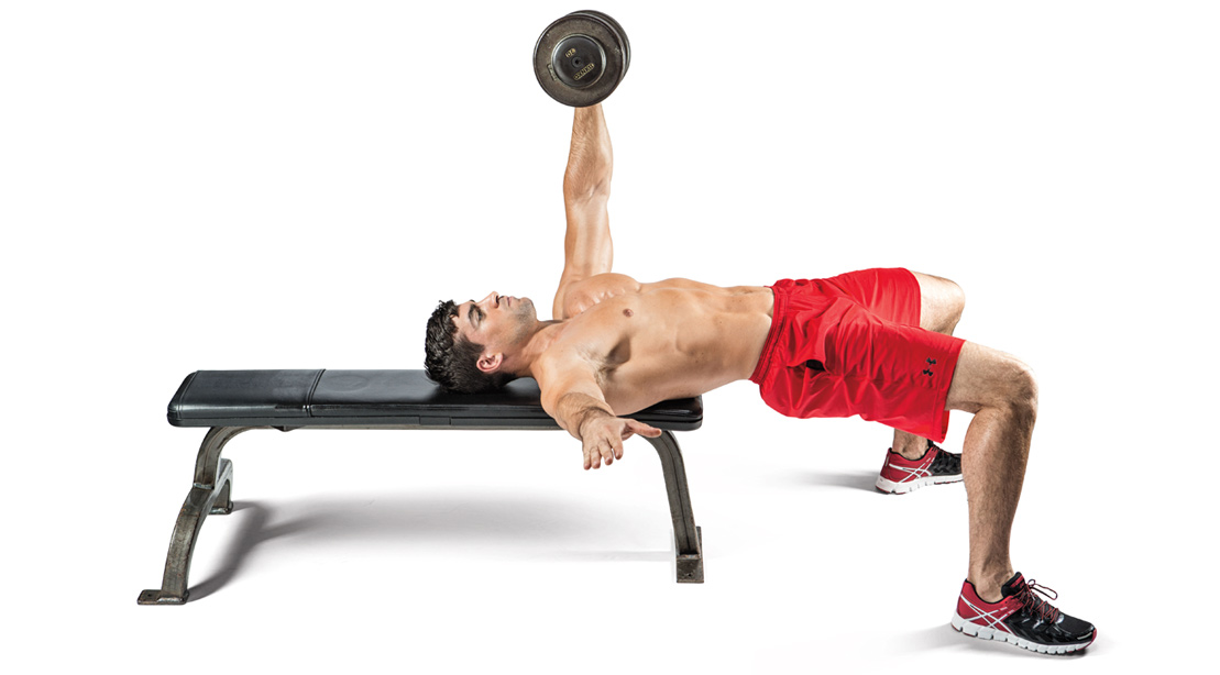 Single Arm Partial Bench Press Video Watch Proper Form Get Tips Amp More Muscle
