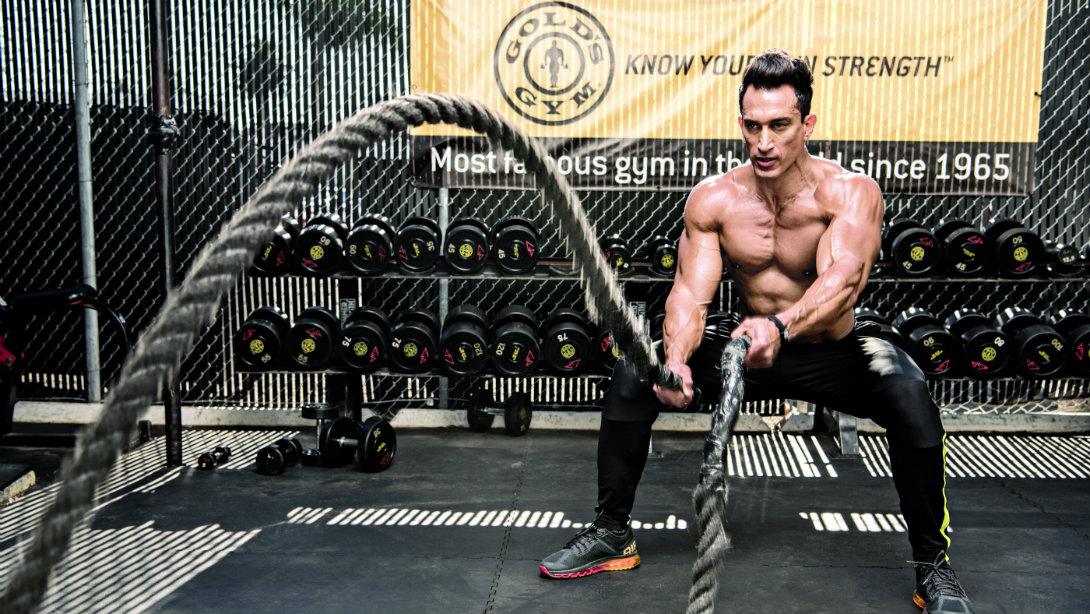 Make Heavy Rope Training Part Of Your Workout Routine Muscle Fitness