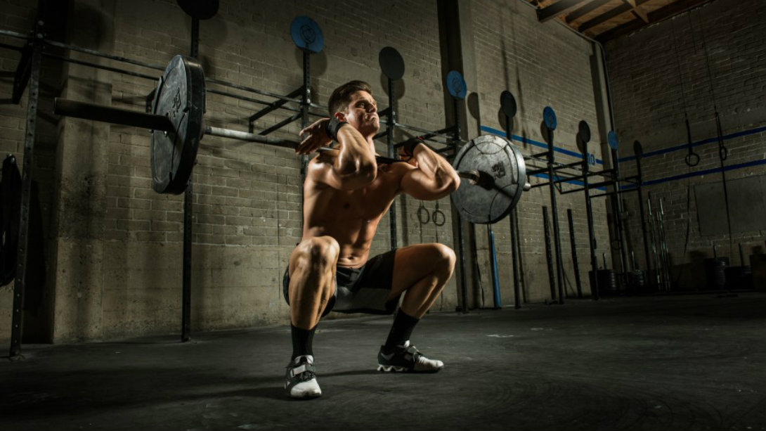front squat barbell