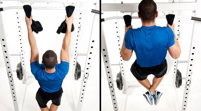 towel grip pull-ups
