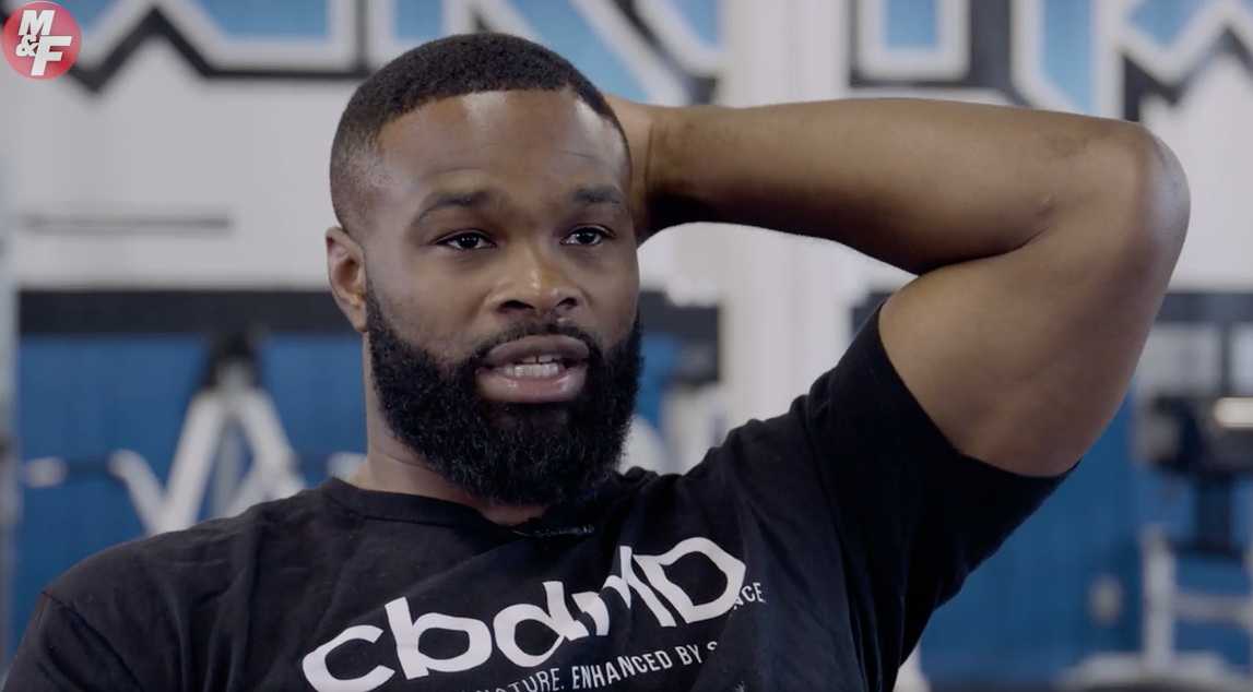 Tyron Woodley Breaks Down Why He Endorses CBD Products for Recovery