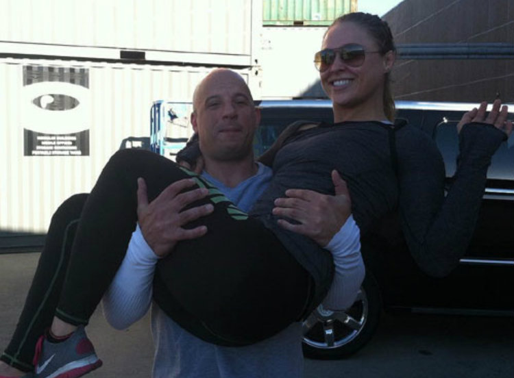 vin diesel and ronda rousey