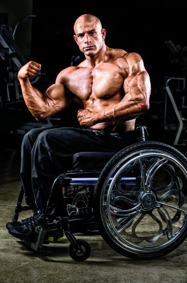 Nick Scott wheelchair bodybuilder