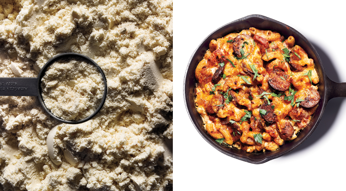 Whey Better: Protein-enhanced Meals