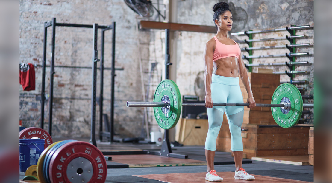 The Best 4 Exercise Barbell Circuit Workout To Blast Fat