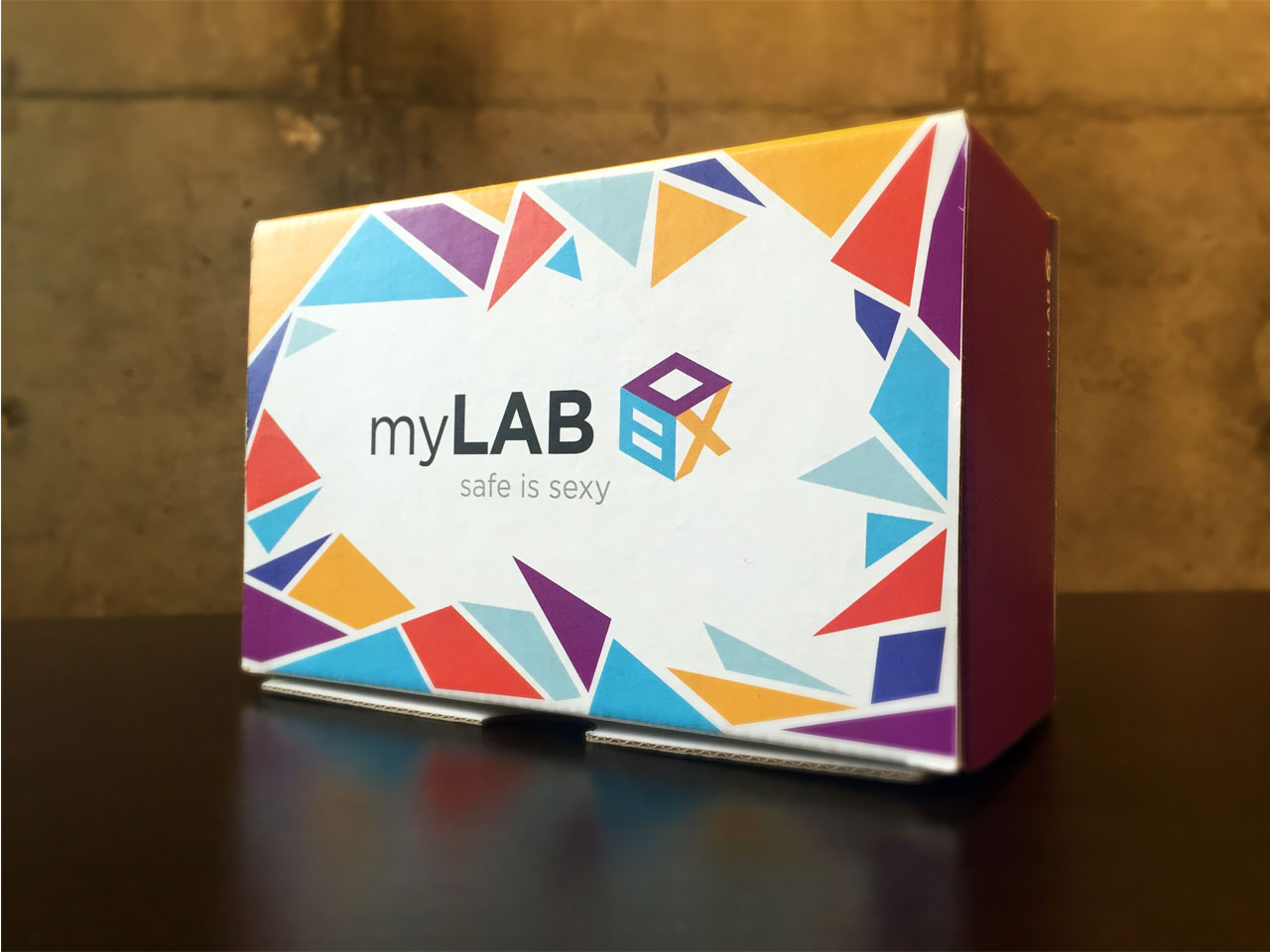 myLAB STI test kit