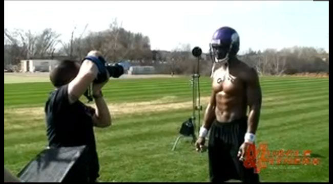 Adrian Peterson Muscle