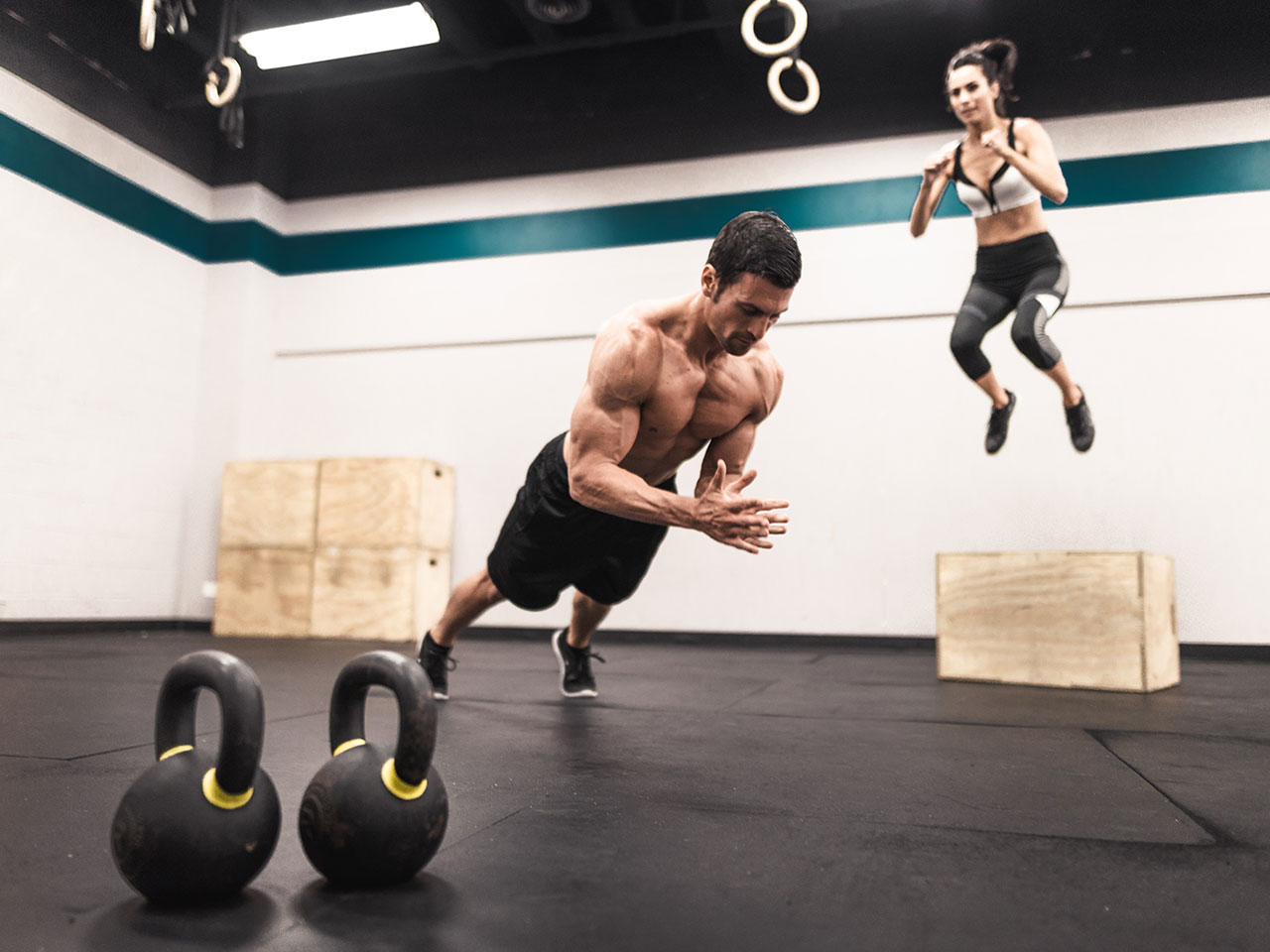 Get a fighter's physique: Workout 1