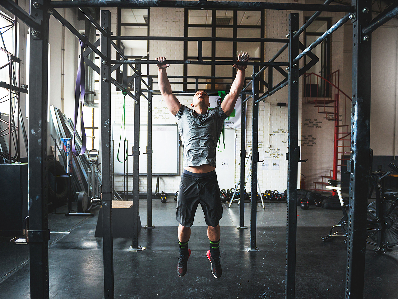 Today's Workout: The bodyweight workout you can do with just a pullup