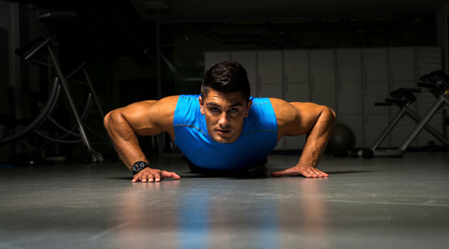 Push Your Pecs: Four Ways to Pushup