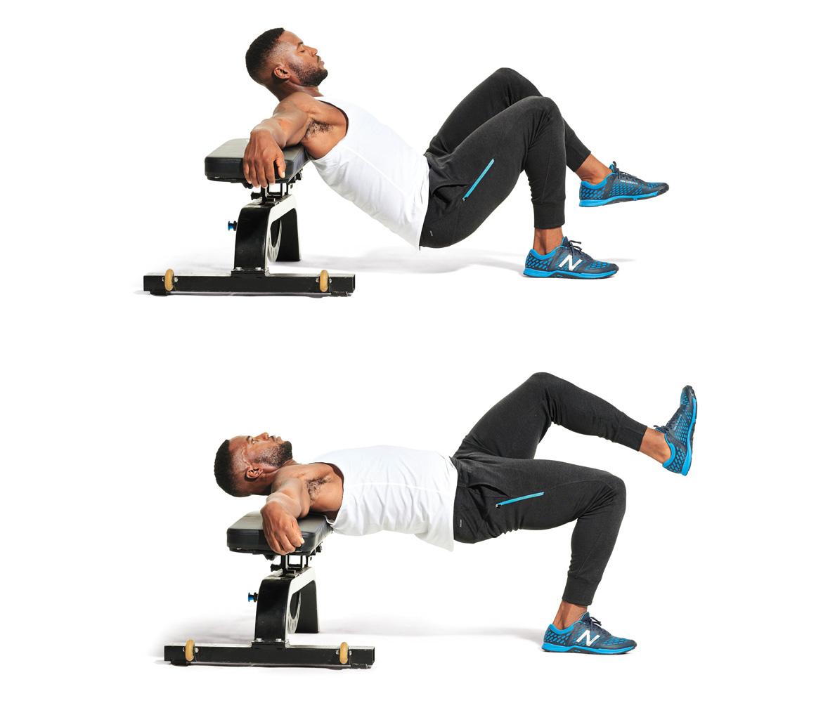 Brilliant Single Leg Hip Thrust Video Watch Proper Form Get Tips Machost Co Dining Chair Design Ideas Machostcouk