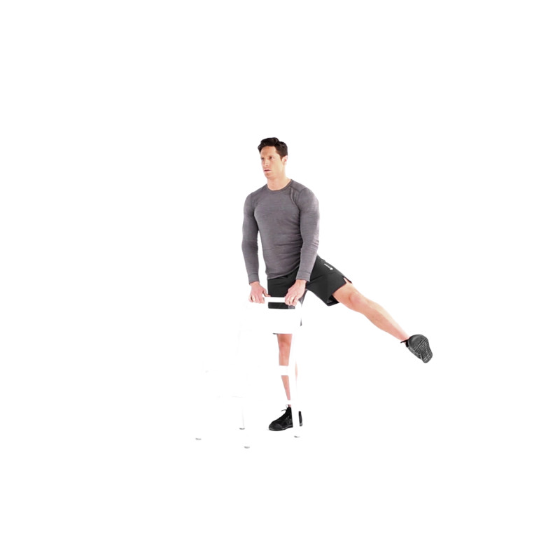 Standing Hip Abduction Video - Watch Proper Form, Get Tips