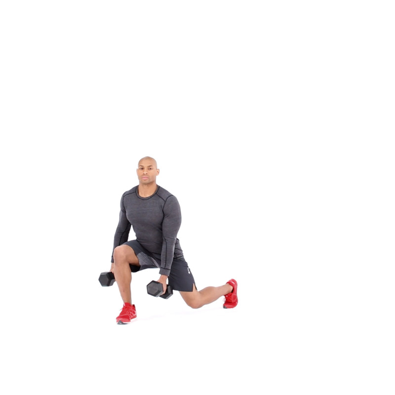 Diagonal Lunge Video Watch Proper Form Get Tips More Muscle