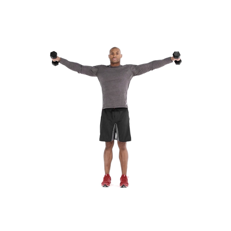 How To Properly Execute A Dumbbell Lateral Raise Muscle Fitness