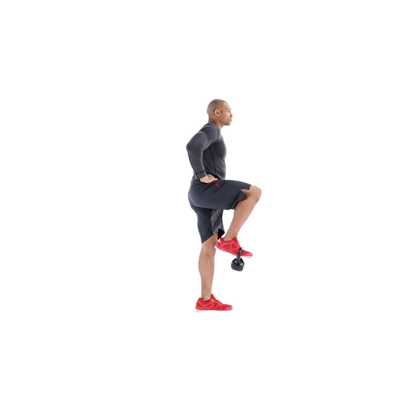 Exercise Kettlebell Figure Eight: Watch Proper Form, Get Tips