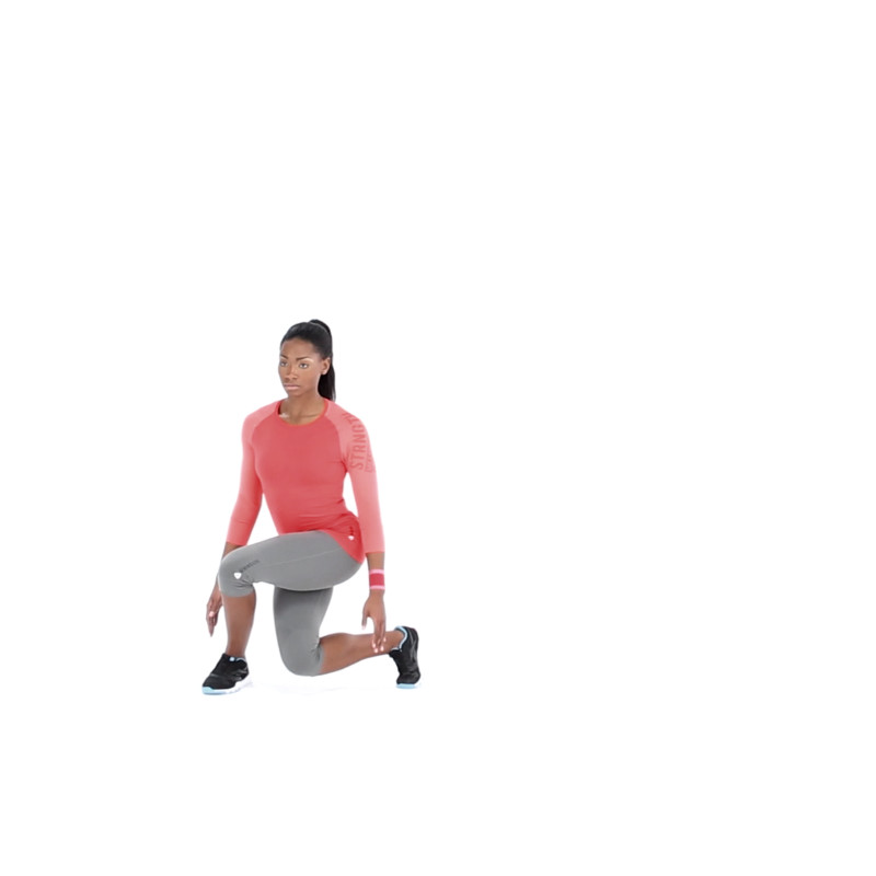 Drop Lunge Video Watch Proper Form Get Tips More Muscle Fitness