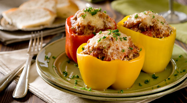 Muscle-Building Stuffed Peppers Recipe