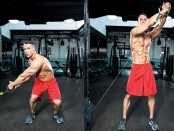 Reverse Woodchop Cable Exercise  thumbnail
