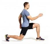 Reverse lunge knee-up hop thumbnail
