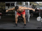 Bentover cable lateral raise thumbnail