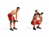 How To Do A Dumbbell Clean And Squat thumbnail