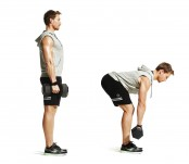 Stiff-Leg Dumbbell Deadlift thumbnail