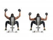 Exercise: How to do an Incline Dumbbell Half Flye  thumbnail