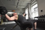 Incline dumbbell circles thumbnail