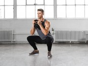 Kettlebell goblet squat thumbnail
