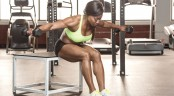 Seated Bentover Dumbbell Flye thumbnail