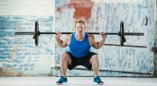 Man Barbell Squat thumbnail