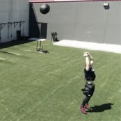 Backward Medicine Ball Toss thumbnail