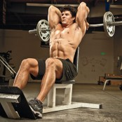 Seated reverse-grip overhead triceps extension thumbnail