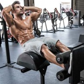 ab exercise: roman chair situp thumbnail