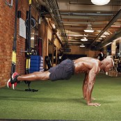TRX Pushup Challenge | Muscle & Fitness