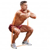 Resistance-Band Front Squat thumbnail