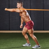 One-Arm Resistance-Band Chest Press thumbnail