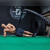Battle-Rope Wave From Side Plank  thumbnail