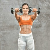 Dumbbell Front to Lateral Raise thumbnail