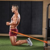 Kneeling Hip Thrust With Band thumbnail