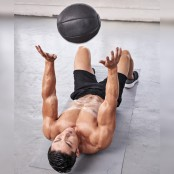 Medicine Ball Lying Chest Pass thumbnail