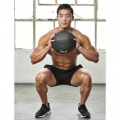 Medicine Ball Squat to Overhead Press thumbnail