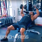 Dumbbell Incline Bench Press thumbnail